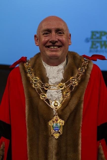Image: The Mayor of Epsom & Ewell 2021/2022
