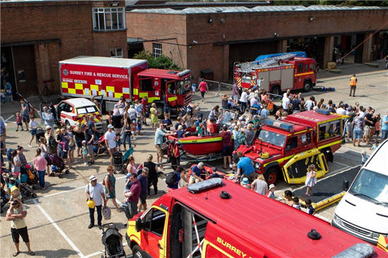 EpsomFireStationOpenDay
