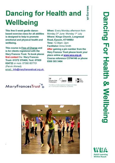 Dancingforhealth