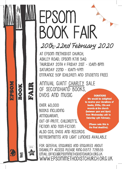 EpsomBookFairposter