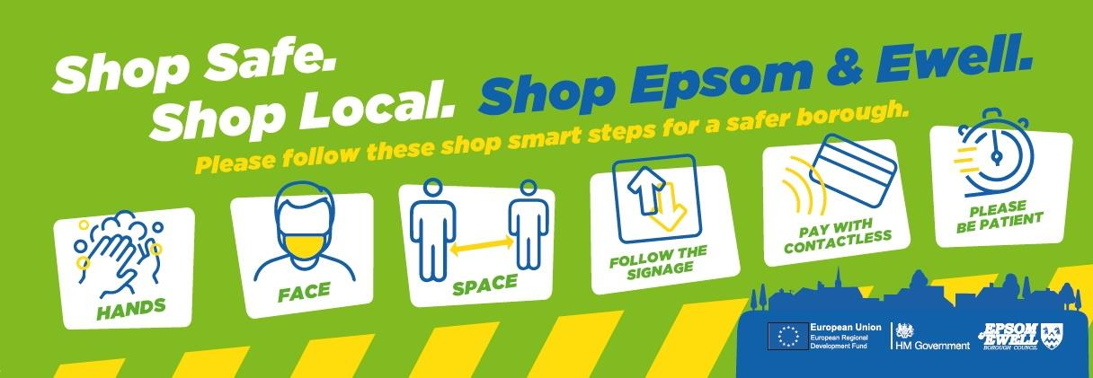 Image: shop local graphic