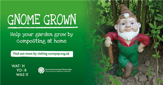 Gnome grown - garden waste collection and recycling
