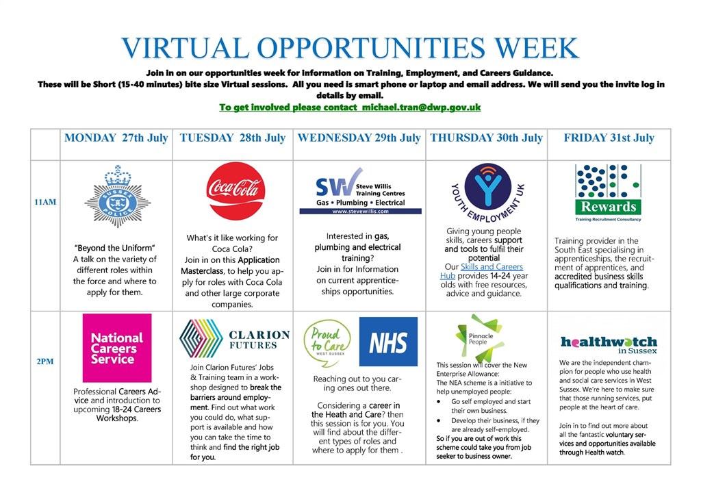 Youth Opportunities Week